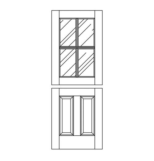 Wood Dutch Door (DD6000)