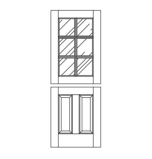 Wood Dutch Door (DD8000)