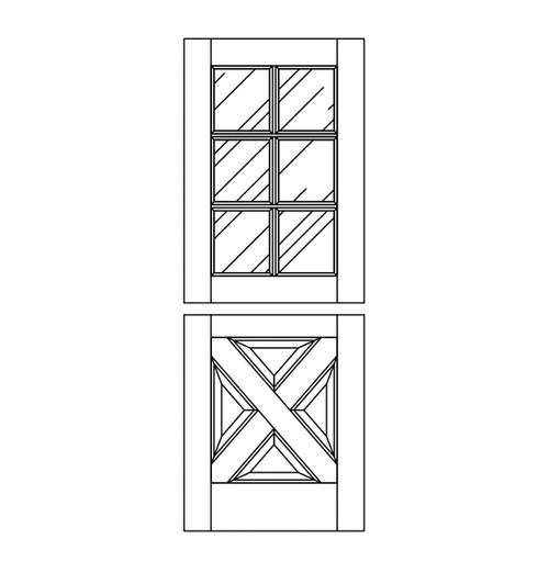 Wood Dutch Door (DD10090)