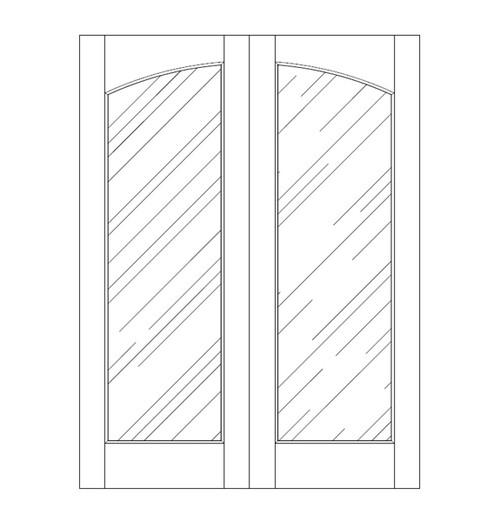 Glass Door (DG1100CA)