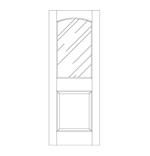 Glass Door (DG2100)