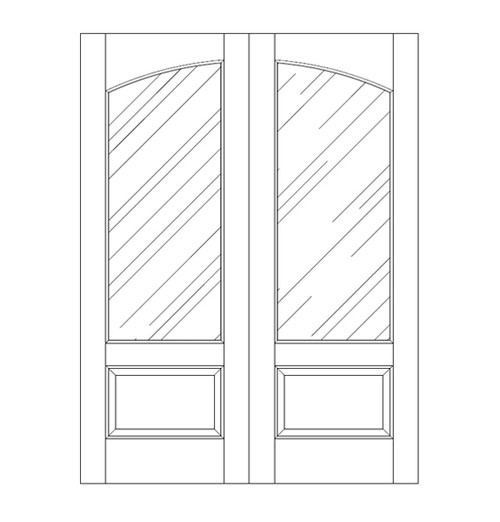 Glass Door (DG2110CA)
