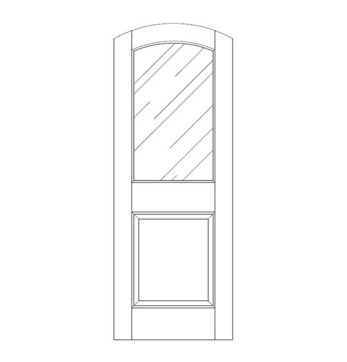 Glass Door (DG2500)