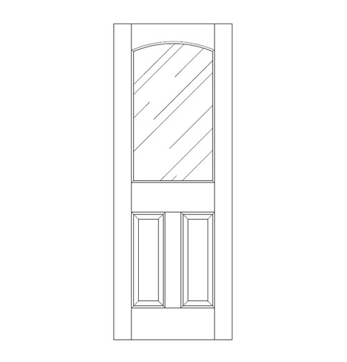 Glass Door (DG3100)