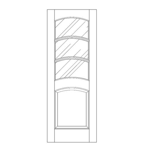 Glass Door (DG4140)