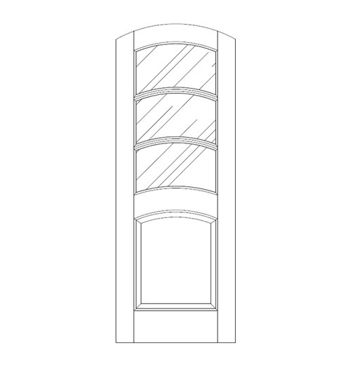 Glass Door (DG4540)