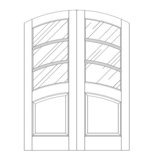 Glass Door (DG4540CA)