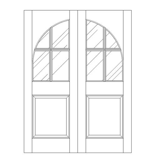 Glass Door (DG5200CA)