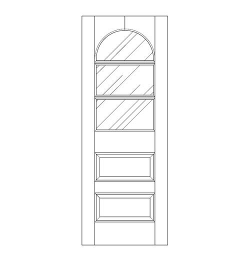 Glass Door (DG5240)