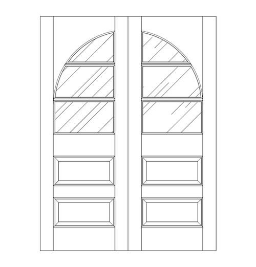 Glass Door (DG5240CA)