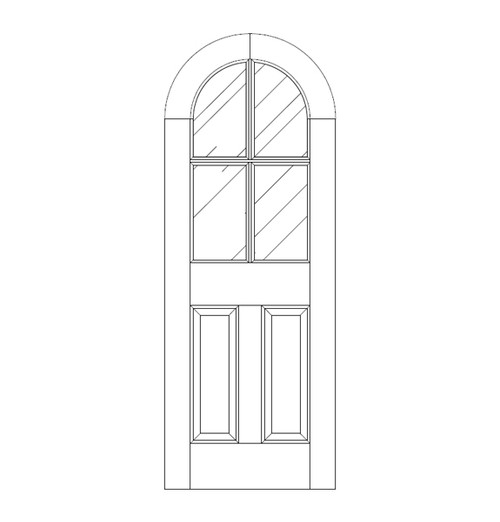 Glass Door (DG6600)