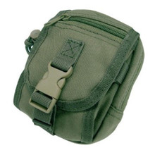 Condor MA26 Molle Gadget Pouch for iPhone, iPod, GPS, Camera- OD Green/ Black/ Coyote Brown