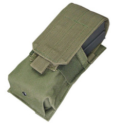 Condor MA5 Single .223 or 5.56mm Magazine Pouch- OD Green/ Black/ Tan/ Coyote Brown