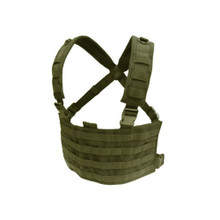 Condor MCR4 OPS Operator MOLLE Tactical Chest Rig- OD Green/ Black/ Tan/ Coyote Brown
