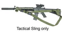 Condor T3PS Cross Shoulder Quick Release Tactical 3 Point Rifle Sling- OD Green/ Black/ Tan