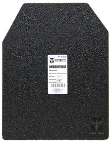 """AR500 Armor® 11"""" x 14"""" Patented Advanced Shooters Cut Level III Body Armor Plate"""