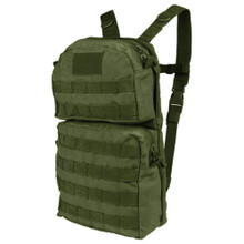 Condor HCB2 Hydration Carrier II Backpack w/ 2.5L Bladder Included- OD Green