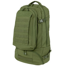 Condor 111134 Trekker 3-in-1 travel backpack - OD Green/Black/Coyote Brown