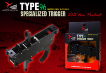 "Action Army Specialized ""Zero"" Airsoft Trigger Set for Maruzen Type 96"