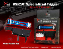 "Action Army Specialized ""Zero"" Airsoft Trigger Set for Marui VSR10 / JG Bar10"