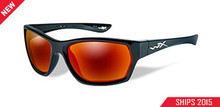 WILEY X MOXY POL CRIMSON MIRROR LENS/GLOSS BLACK FRAME