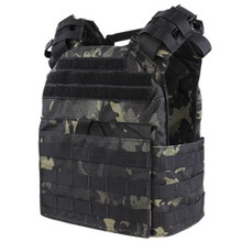 Condor US1020-021 Molle Tactical Cyclone Lightweight Plate Carrier- MultiCam Black