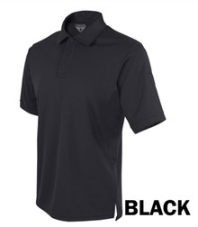 Condor 101060 Performance Tactical Polo Shirt w/Moisture Wicking Knitted- Black/ Navy Blue
