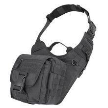 Condor 156 Tactical Molle EDC EveryDay Carry Military Shoulder Bag - OD Green/ Black/ Tan