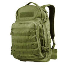 Condor 160 MOLLE Venture Pack Tactical Backpack- OD Green/ Black/ Tan