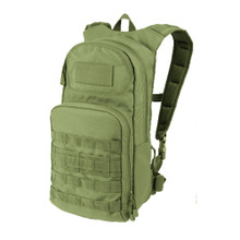 Condor 165 Molle Tactical PALS Fuel Hydration with Pack 2.5L Water & Bladder Carrier- OD Green/ Black/ Tan