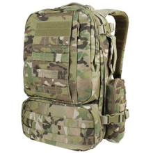 Condor 169-008 Tactical MOLLE Modular CONVOY Outdoor Hiking Backpack – Multicam