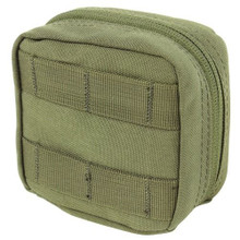 Condor MA77 4x4 Utility Pouch MOLLE Tool Bag Removable Clear Pocket- OD Green/ Black/ Tan