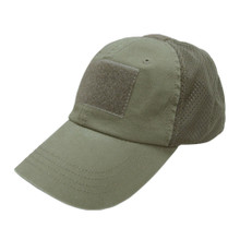 Condor TCM- Mesh Tactical Cap Operator Contractor Shooter Hat- OD Green/ Black/ Tan/ Navy Blue