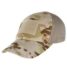 Condor TCM-022 Mesh Tactical Cap Operator Contractor Shooter Hat -Multicam Arid