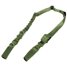 Condor US1009 STRYKE Tactical Two Point Bungee Rifle Sling- OD Green/ Black/ Tan