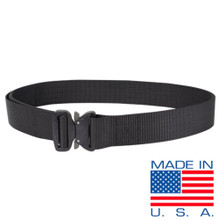 Condor US1078-002 Tactical Heavy Duty Nylon Military Quick Release Cobra Belt- Black