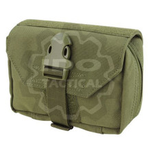 Condor 191028 EMT Molle Tactical First Response Pouch- OD Green/ Black/ Tan