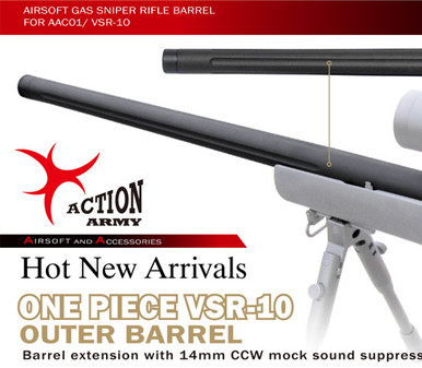 Action Army VSR10 One Piece Bull Barrel