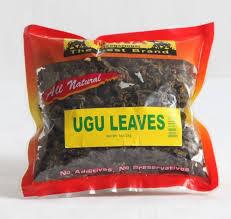 Dry Ugu Leaves