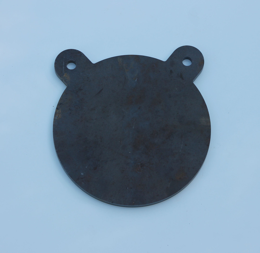 """8"""" AR500 Steel Shooting Target Gong in 3/8"""" thickness"""