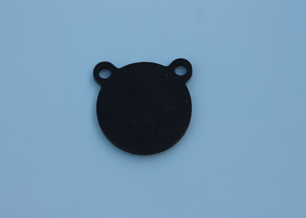 """4"""" AR500 Steel Shooting Target Gong in 3/8"""" thickness"""