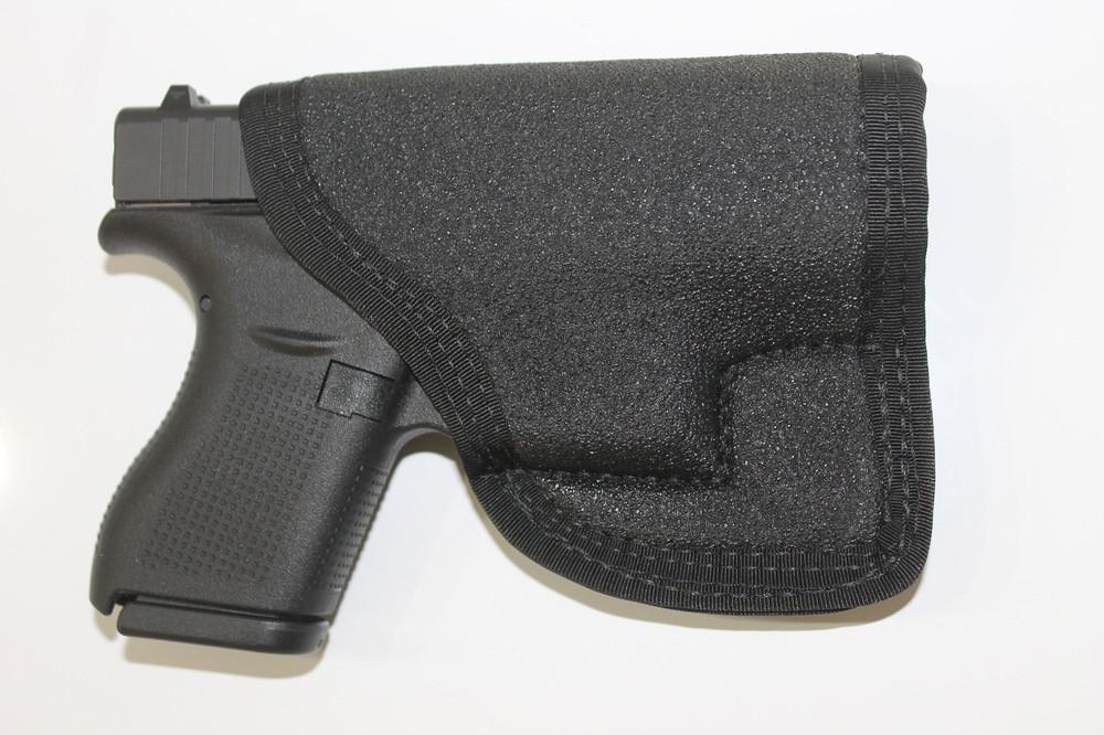 PocketPac Pro concealed carry pocket holster Glock 42 or Glock 43 9mm or .380