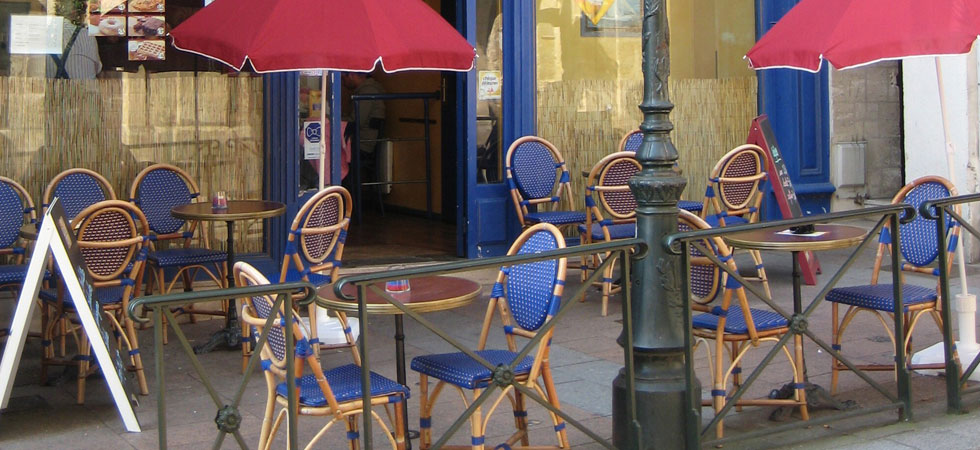 Paris Cafe Rattan Chairs
