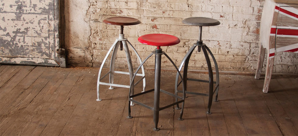 Industrial Chairs and Tables