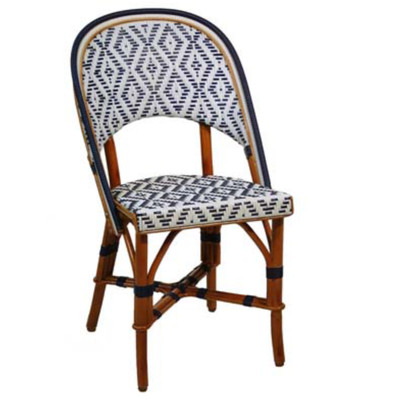 French rattan bistro chair - Cane bistro chairs ...