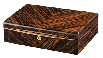 VOLTA EBONY WOOD 10 WATCH CASE