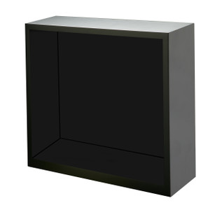 Diplomat Boxy Black Wood Enclosed Housing