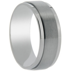 Titanium Band - Matte Center Finish