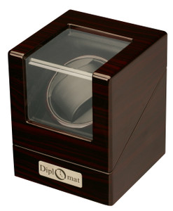Diplomat Estate Single Watch Winder - Ebony