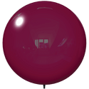 "18"" BURGUNDY BALLOON BOBBER DURABALLOON REPLACEMENT"